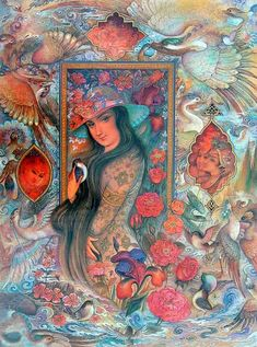 Art-Iran-painter-mohammad bagher aghamiri-محمد باقر آقا ميری