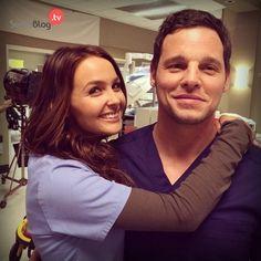 Alex et Jo Grey's Anatomy