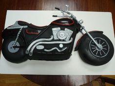 Motorcycle Groom's Cake