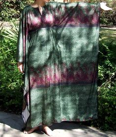 This would be a nice swimsuit cover-up, using sheer fabric.