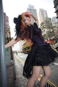 We chat with @La Carmina about Japanese Goth Fashion: http://blog.wantering.com/post/45424372769/trendsetter-la-carmina