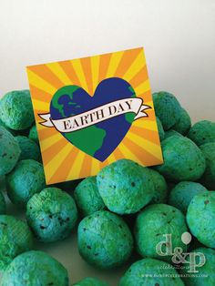 Seed Bomb Earth Day party favors