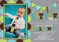 Party Printable Pack Little man turns one Ties and by MagicbyMarcy