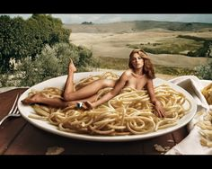Annie Leibovitz shoot for Lavazza