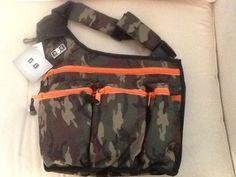 Diaper Dude Diaper Bag Camo Bran New Never Used | eBay