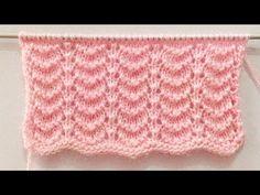 Beautiful 4 Rows Repeat Pattern For Ladies Sweater/Cardigan/Shawl/Baby Sweater Baby Knitting Patterns, Knitting Stiches, Knitting Designs, Knit Baby Sweaters, Sweaters For Women, Pull Bebe, Big Knit Blanket, Big Knits, Shawl Cardigan