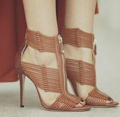 Stylish Sandals, Stiletto Heels, Peep Toe, Shoes, Cinderella, Nails, Fashion, Trends, Finger Nails