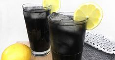 Very Powerful Black Lemonade Recipe For Cleansing And Body Detox But You Must Be Very Careful When Consuming It - Happy and Healthy Living Detox Drinks, Healthy Drinks, Tea Cocktails, Healthy Tips, Healthy Food, Black Lemonade Recipe, Sumo Natural, Bebidas Detox, Halloween Recipe