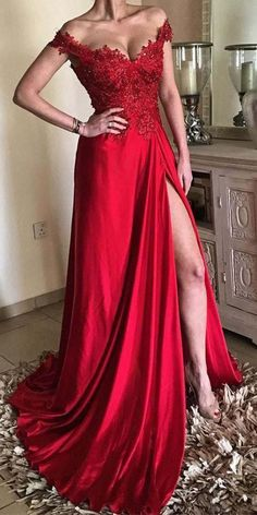 Red Prom Dresses Long Prom Dresses With Slit, Elegant Prom Dresses A-line, Off-the-shoulder Prom Dresses Lace Affordable Prom Dresses, Elegant Prom Dresses, Prom Dresses Online, Cheap Prom Dresses, Prom Party Dresses, Graduation Dresses, Formal Evening Dresses, Long Dresses, Maxi Dresses
