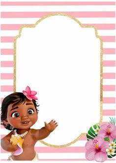 Moana Birthday Decorations, Festa Moana Baby, Hawaiian Birthday, Princess Peach, Disney Princess, Ideas Para Fiestas, Alice, First Birthdays, Aurora Sleeping Beauty