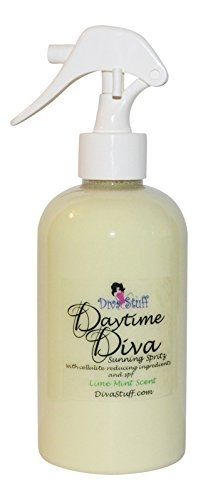 Daytime Diva Lime Mint Anti Cellulite Nourishing Sunning Spritz w/ Sun Protection. Also a personal favorite! - Made in the U.S.A. by DivaStuff.com