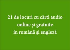 carti audio online si gratuite Kids And Parenting, Audio Books, Books To Read, Reading, Alphabet, Hacks, Business, Movie, Author