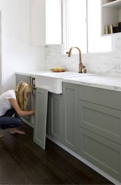 Pigeon - 12 Farrow and Ball Kitchen Cabinet Colors For The Perfect English Kitchen