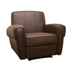 @Overstock - A sophisticated update to the tried-and-true recliner, this design is versatile and somewhat modern. Dark brown faux leather highlights this Atticus reclining chair.http://www.overstock.com/Home-Garden/Atticus-Modern-Dark-Brown-Faux-Leather-Recliner/5258386/product.html?CID=214117 $245.64