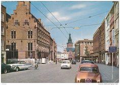 Burchstraat eind jaren 50 of begin jaren 60