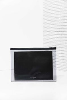 Death In Paris Vasistas Noir Leather Clutch | Shop What's New at Nasty Gal