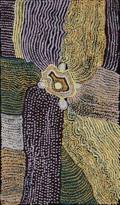 Tilau Nangala - 'Mikuntji' | Aboriginal Art | Outstation