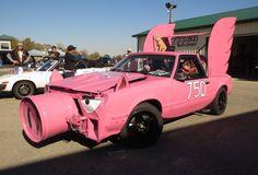 Flying Pig Mustang? WTF!