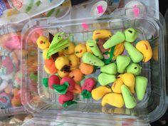 Alfeñiques dulces para ofrenda