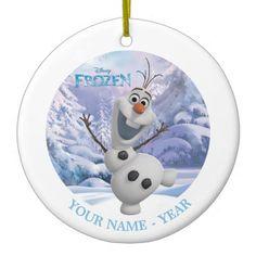 Olaf | Personalized Ceramic Ornament