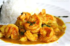 #lunch #caribbeancooking #curryshrimp