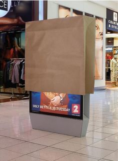 UGLY BETTY advertisement.. Clever