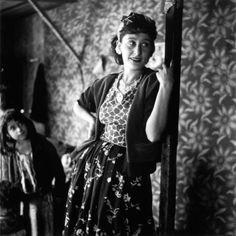 Maline, gitane de Montreuil | 1950 |¤ Robert Doisneau | 22 août 2015 |  Atelier Robert Doisneau | Site officiel