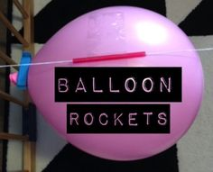 Balloon Rocket, Kid Activities, Balloons, Fun, House, Ideas, Infant Activities, Globes, Home