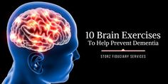 10 Brain Exercises to Help Prevent Dementia -- In the past we've shared valuable tips on how physical exercise can help reduce your risk of dementia and Alzheimer's disease. Now it's time to look at working out your brain, in ways that might help prevent the development of these devastating diseases. [...]