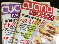 CUCINA MODERNA - February & March 2018 - Happy to be featured on both issues with our table linens! #marinacmilano