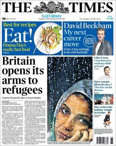 Periódico The Times (Reino Unido). Periódicos de Reino Unido. Toda la prensa de hoy. Kiosko.net