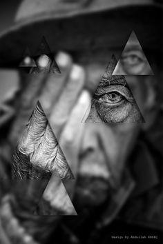 Geometric Photograph Manipulation / Design by Abdullah ERKEÇ