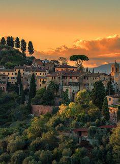 Palaia-Toscane