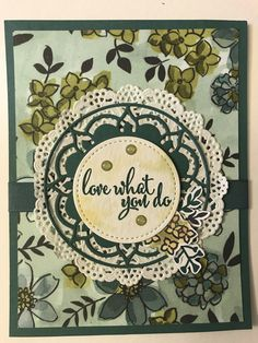 Sneak Peak 2018-19 Stampin' Up! Catalog. Love What You Do, eastern palace thinlit