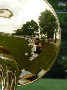 More reflections of marching band...