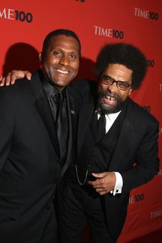 Cornell West and Tavis Smiley