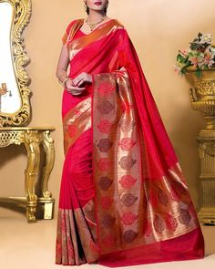f896ef7be6c725 Kanjivaram Silk Sarees From Simaaya · Bring In Some Ethnic Collection To  Your Closet By Choosing These Kanjeevaram Sarees Exclusively From Our