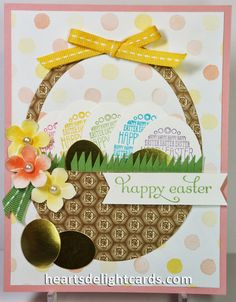 Heart's Delight Cards: Easter is Eggstra Spectacular!