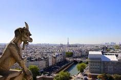 Vista de Norte Dame, Paris