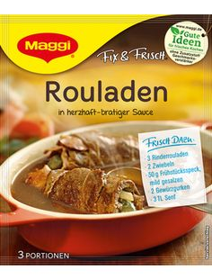 -in USA- Maggi Rouladen Sauce - 1 pack/3 servings
