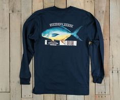 Southern Marsh Collection — Southern Marsh Outfitter Collection - Pompano - Long Sleeve