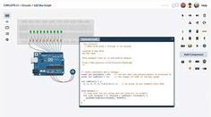 Excelente simulador de circuitos electrónicos gratis y on-line