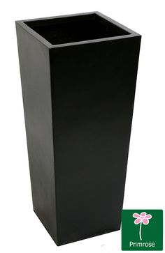Tall Flared Square Fibreglass Planter - Matt Black These top quality planters are made from fibreglass and resin, and as a result are extremely strong and durable. The geometric design suits the clean lines of contemporary architecture and planting, combined with a contempora