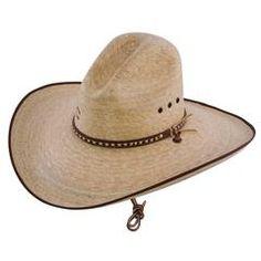 77ff16f5 Charlie 1 Horse Bandito B Palm Straw Western Hat Item CSBNDTB9550 - Natural  / 7-