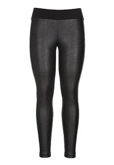 Faux leather front leggings (original price, $39) available at #Maurices