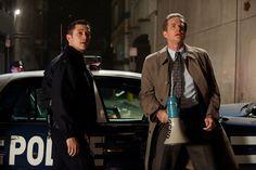 Joseph Gordon-Levitt as John Blake and Matthew Modine as Foley. #thedarkknightrises #batman #robin