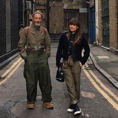&   DesignerNigel Cabourn Woman Paris-London-Tokyo