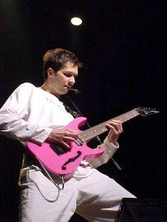 "Paul Gilbert LACS 7-string PGM ""Let the Computer Decide"" Paul Gilbert, Mr Big, Best Guitarist, Guitar Players, Jazz Blues, New Music, Masters, Bass, Anatomy"