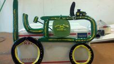 Horseshoe tractor.handmade by Alex Gray