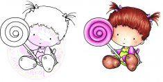 C.C. Designs Lolli Beatrice DIGI Image